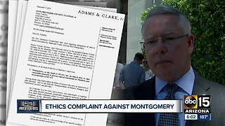Ethics complaint filed against Maricopa County Attorney Bill Montgomery