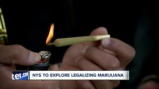 NYS to explore legalizing marijuana - Video