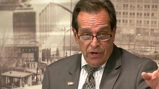 ORBT: Metro ED Curt Simon talks about the features of the rapid-transit bus line