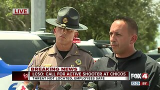 Press conference: Active shooter investigation at Chico's headquarters in Fort Myers