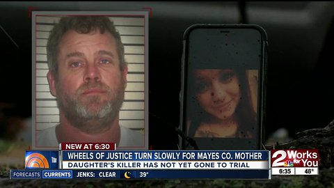 Wheels of justice turn slowly for Mayes County mother
