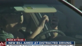 New Bill Targets Distracted Driving - Video