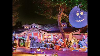 VIRTUAL TOUR! The Nightmare Before Christmas house in Arizona - ABC15 Digital