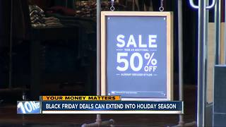 Black Friday deals can extend into holiday season - Video