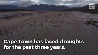 Cape Town Will Run Out Of Water In Fewer Than 100 Days - Video