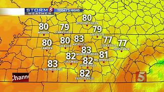 Lelan's Morning Forecast: Monday, June 26, 2017 - Video