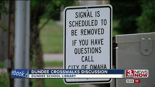 Dundee residents discuss crosswalks with mayor, public works department - Video