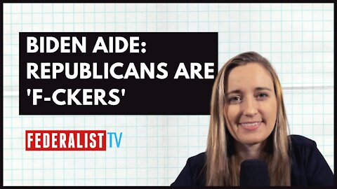 Top Biden Aide Says Republicans Are 'F-ckers' | What It Means For Bipartisanship