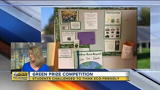 Green Prize Competition challenges kids to think green