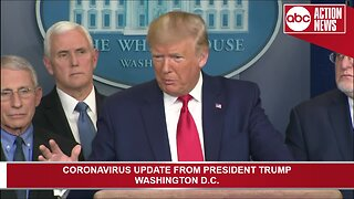 President Trump gives coronavirus update from the White House