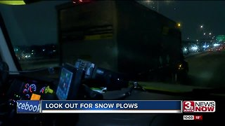 A reminder from plow drivers to move over