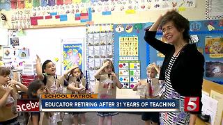 Beloved Madison Kindergarten Teacher Retires - Video