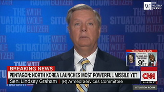 Lindsey Graham: N Korea Seriously 'Miscalculating President Trump' - Video