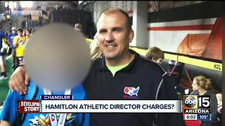 Chandler Police recommend charges against Hamilton HS athletic director in hazing case