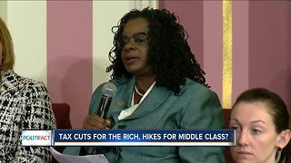 PolitiFact: Tax cuts for the rich, hikes for middle class? - Video