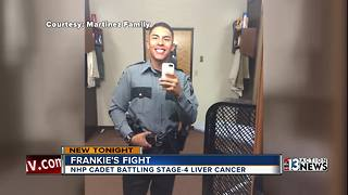 NHP cadet bravely confronts life-threatening cancer - Video