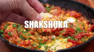 How to make Shakshuka on grill and BBQ - Video