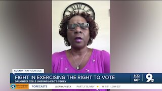 Unsung hero in the fight for voting rights, Maggie Bozeman