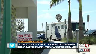Feds crack down on disaster recovery fraud - Video