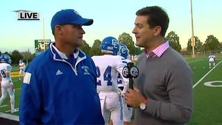 Dan Anderson on Catholic Central's Game of the Week matchup against De La Salle - Video