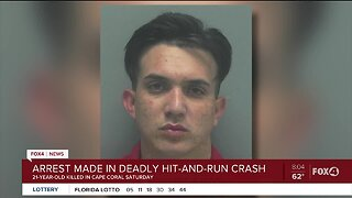Arrest made in deadly hit-and-run crash