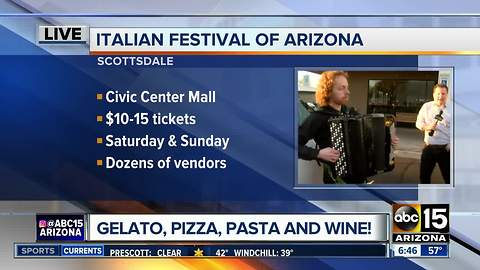 Italian Festival of Arizona coming to Scottsdale this weekend