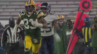 Packers RB continues to give back to Wisconsin communities