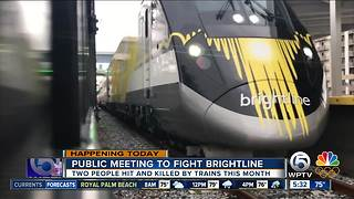 Group works to stop Brightline from expanding to Treasure Coast - Video