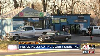 KCPD investigating fatal shooting at pet food store - Video