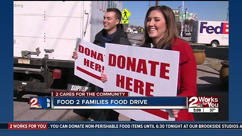 Food 2 Families drive kicks off