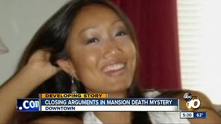 Closing arguments in mansion death mystery - Video