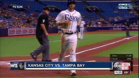 Jalen Beeks comes in, pitches Tampa Bay Rays over sliding Kansas City Royals 5-2