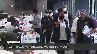 Michigan is on track for record voter turnout