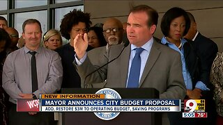 Mayor proposes city budget
