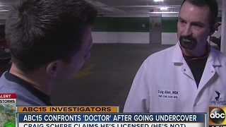 ABC15 uncovers felon operating medical clinic in the Valley: Part two - Video