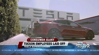 Tesla confirms Tucson layoffs