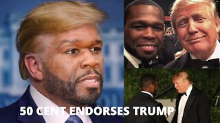 50 Cent Endorses Trump Due To Biden Tax Plan