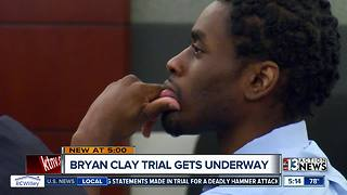 Trial begins for Brian Clay, accused of rape and murder of a mother and daughter - Video
