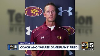 Mountain Pointe coach fired for sharing team strategies