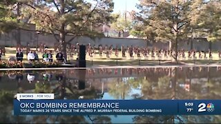 26th annual Oklahoma City Memorial Remembrance Ceremony