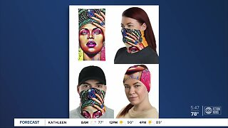 Local artist creates trendy masks to encourage following of CDC guidelines