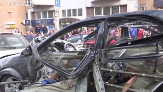 Police Suspect Terrorism After Car Blast Kills One in Central Kiev - Video