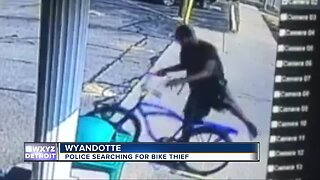 Video captures thief stealing bicycle that is man's only means of transportation