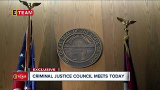 Criminal Justice Council meets today - Video