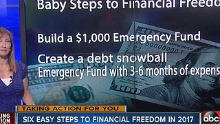 Six easy steps to financial freedom in 2017 - Video