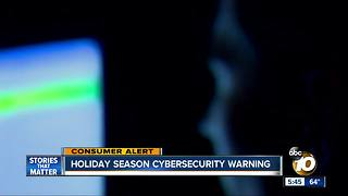 Holiday season cybersecurity warning issued from San Diego federal agents - Video