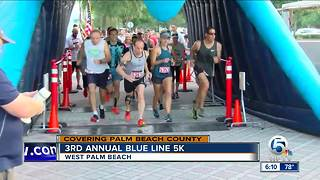 3rd annual Blue Line 5K held in West Palm Beach