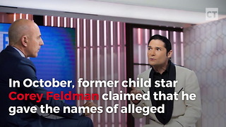 Corey Feldman Names Could Be Shaking Hollywood