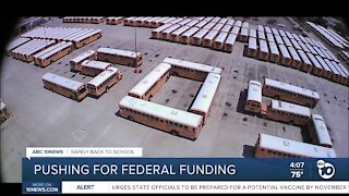 Pushing for federal funding
