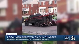 Local man arrested on gun charges